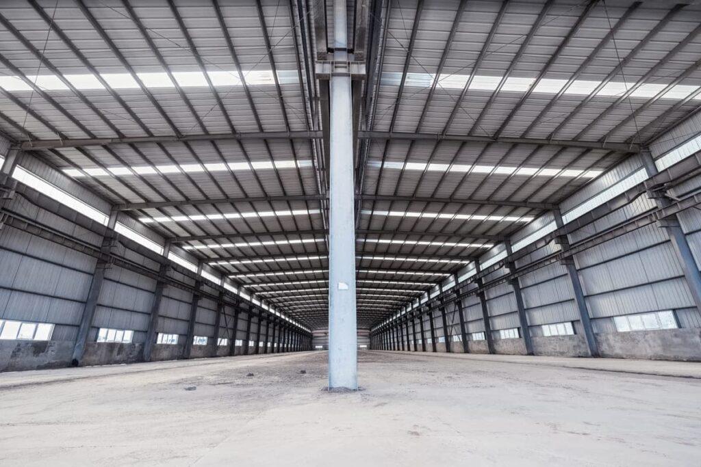 Estructuras de acero para el sector industrial
