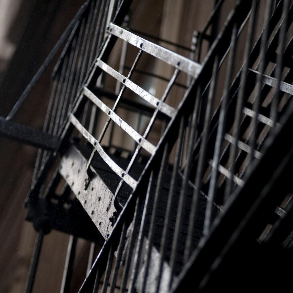Escaleras de herreria para exteriores