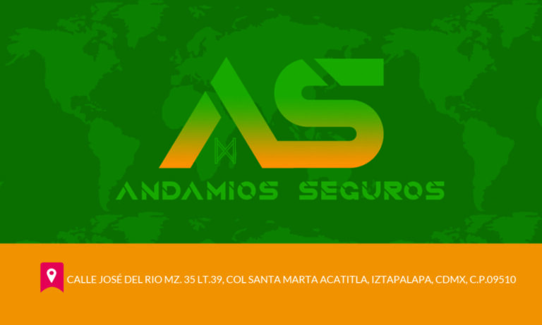 Business Card Front andamios